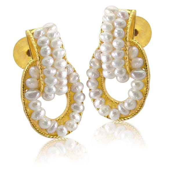 Decorous Pearl Earrings