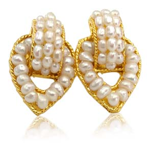 Pearl Earrings-Pearl Charmer Earrings