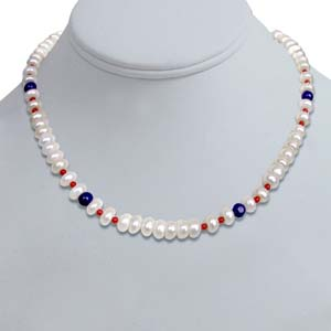 Pearl Necklaces-Single Line Pearl Necklace