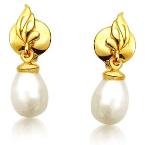 Pearl Earrings-Blazing Beauty Pearl Earrings