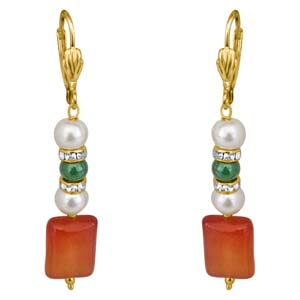 Precious Stone Earrings-Just For You Stone Earrings