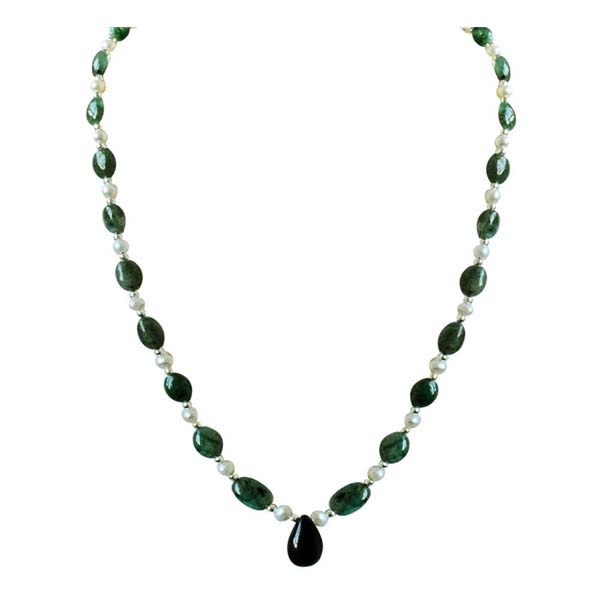 Real Drop Beads Necklace