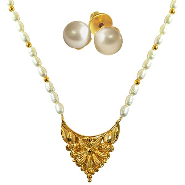 Traditional Necklace with Pearl