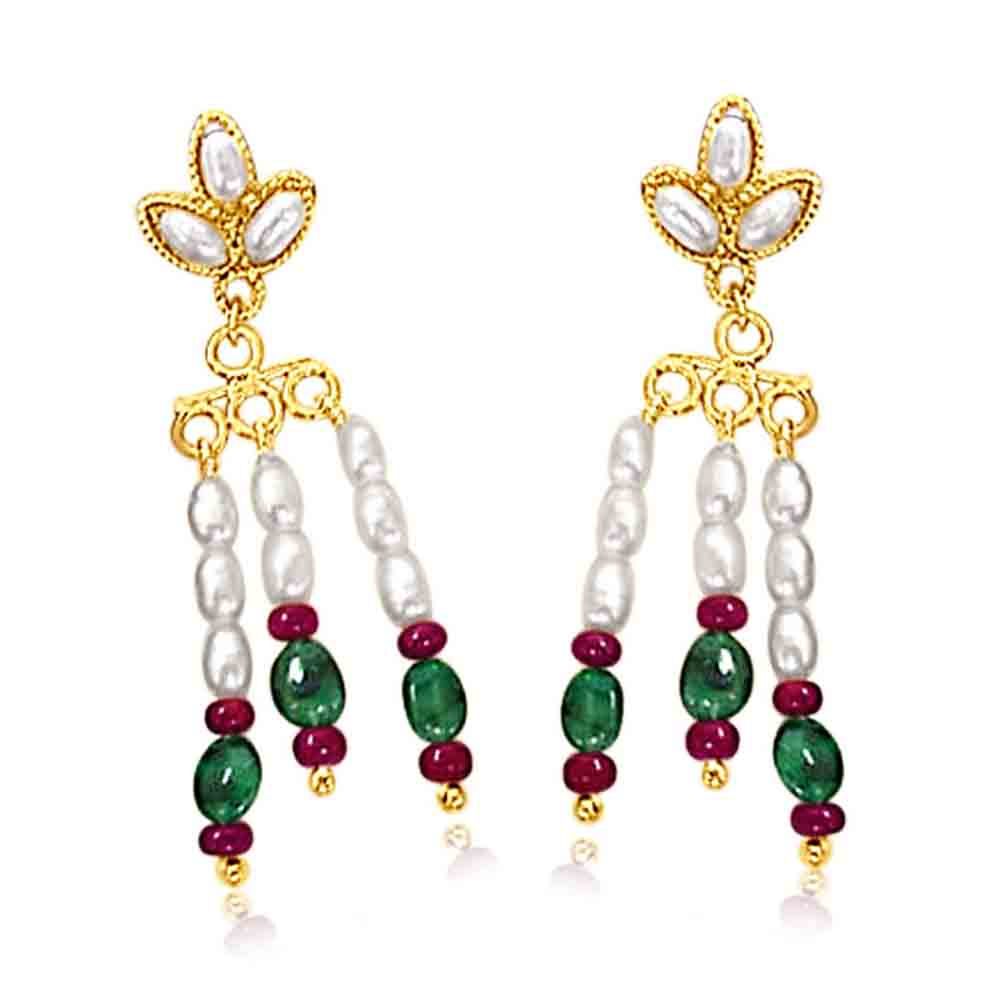 Pearl Earrings-Pearl Earrings