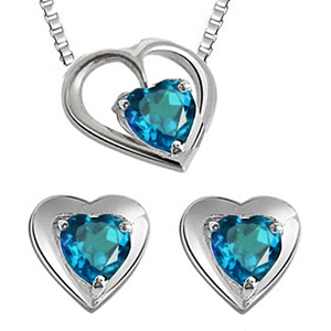 Silver Sets-Silver Pendant Set