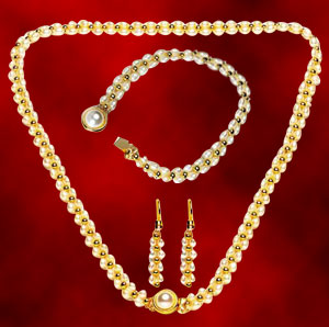 Gold Plated Sets-Lavanya Set
