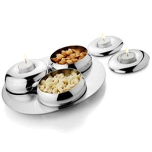 Artec Three Bowls Condiment Set