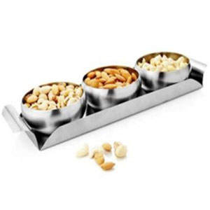 Artec Snack Tray with 3 Bowls