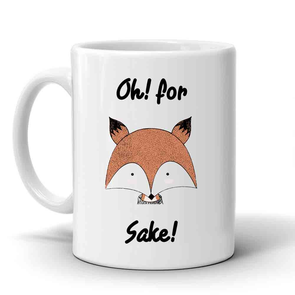 Multi Color Fox Mug