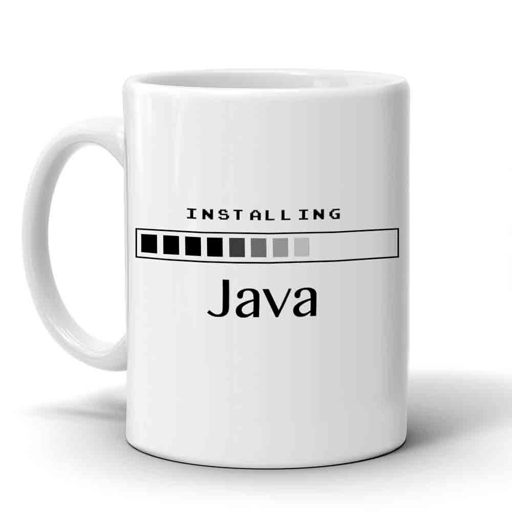 Multi Color Java Mug
