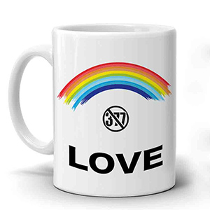 Multi Color 377 Mug
