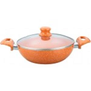 Non-Stick Cookware-Wonderchef Tangerine Wok 20CM with Lid