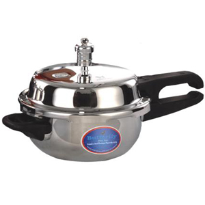 Butterfly Stainless Steel Blueline Junior Pressure Pan