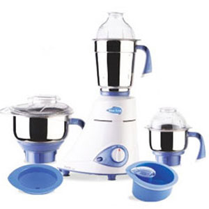 Preethi Blue Leaf Gold Mixer Grinder - 3 Jars