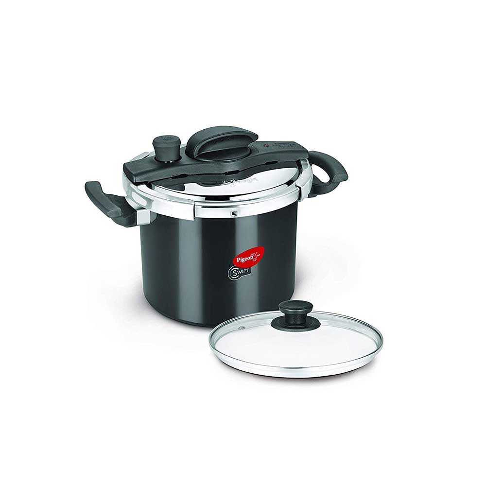 Pigeon Swift Pressure Cooker 6 Ltr Ib