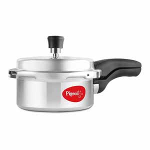 Stainless Steel Cookware-Pigeon Deluxe Aluminium Pressure Cooker 2 L