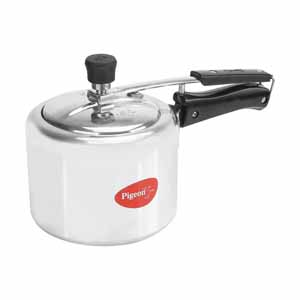 Stainless Steel Cookware-Pigeon Aluminium Classic Pressure Cooker 3 L