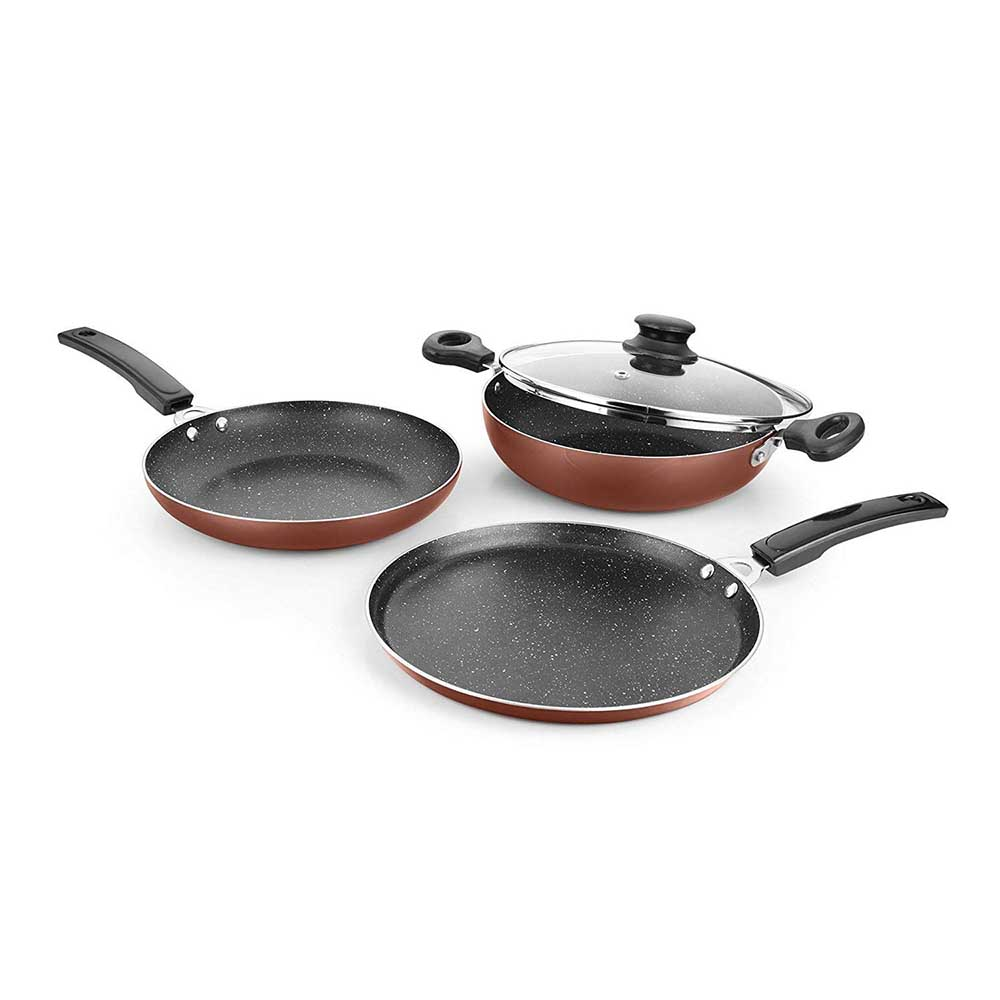 Urban Chef Induction Base Cookware 4 Pcs Set