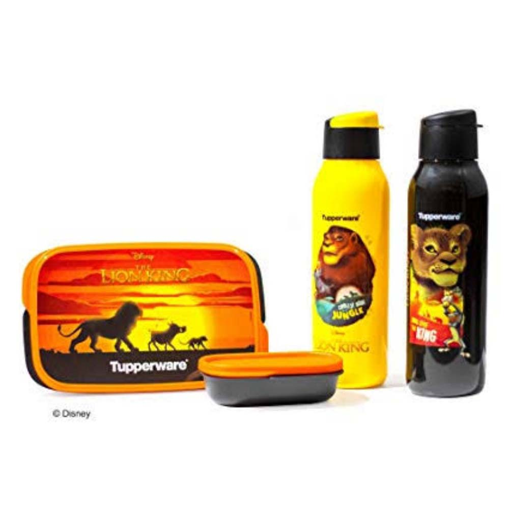 Tupperware Lion King Lunch Set