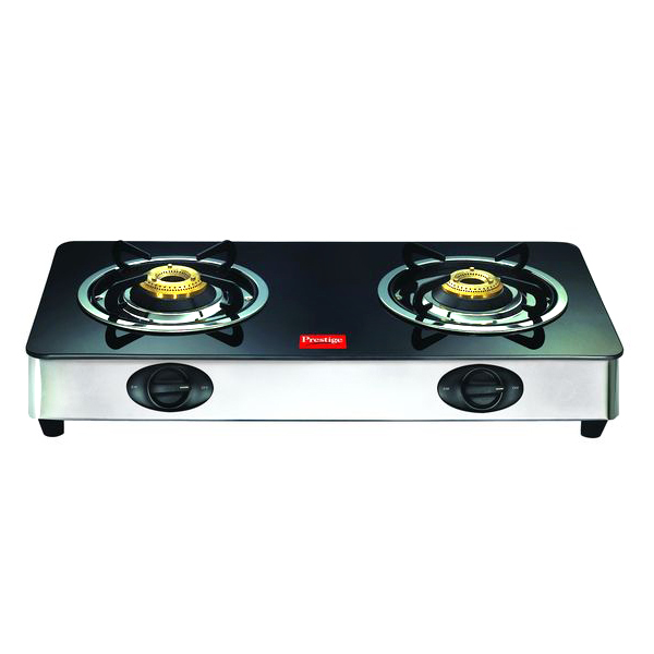 Prestige 2 Burners Duplex Glass Top - GT 02 SS
