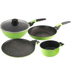 Giftsets-Wonderchef Click Amaze Cookware - Set of 4