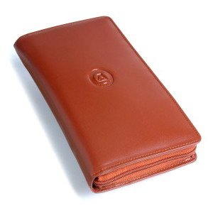 Travel Accessories-Full Grain Softy Travelling Wallet