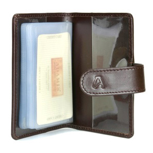 Travel Accessories-Full Grain Softy Card Holder