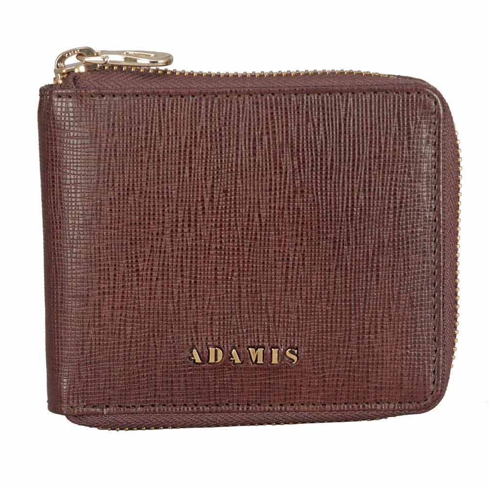 Adamis Brown Leather Men wallet