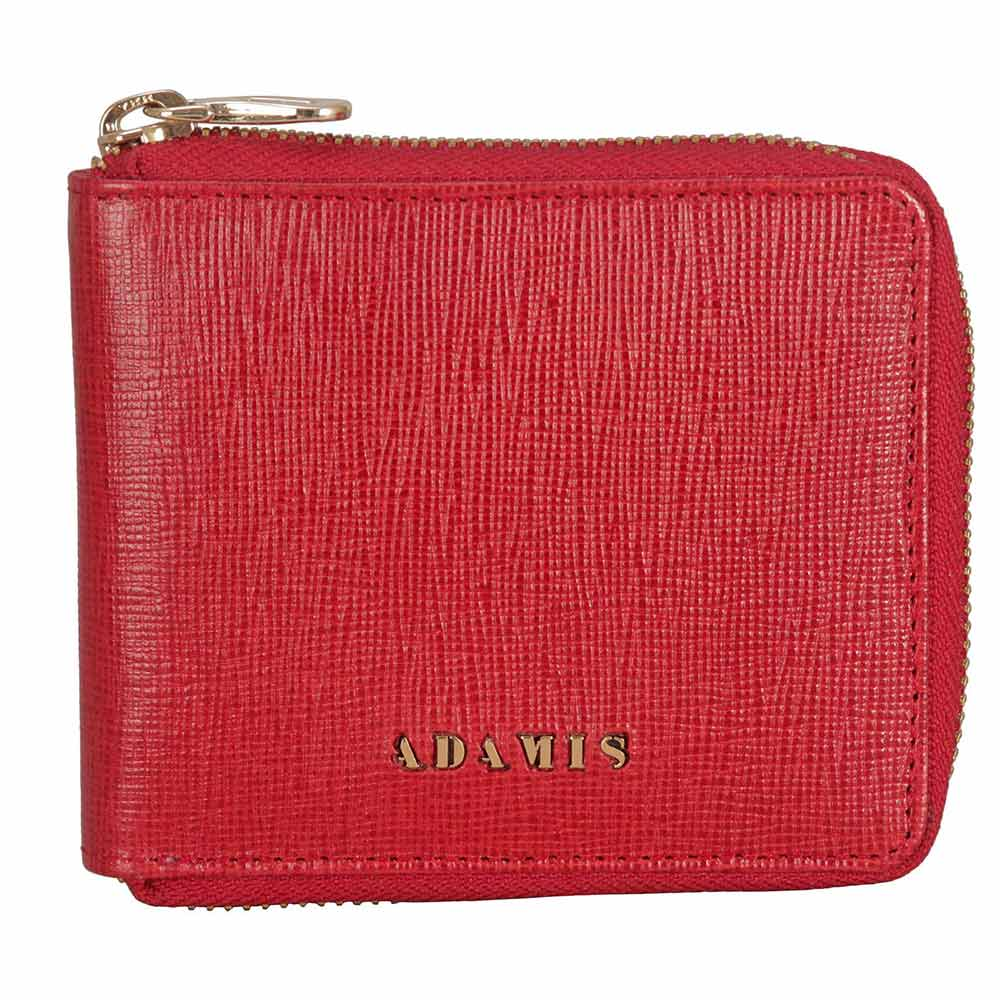 Adamis Red Leather Men wallet