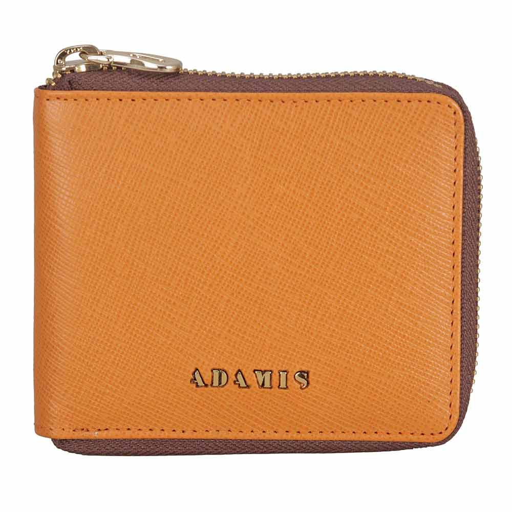 Adamis Tan Leather Men wallet