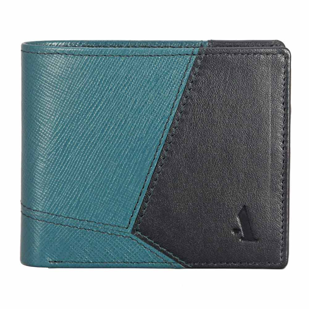 Adamis Green Leather Men wallet