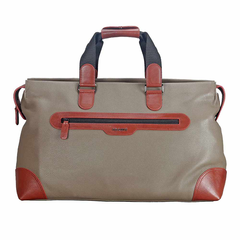 Adamis Tope Leather Travel Cabin Lugguage Bag