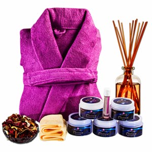 Precious Platinum Spa Hamper