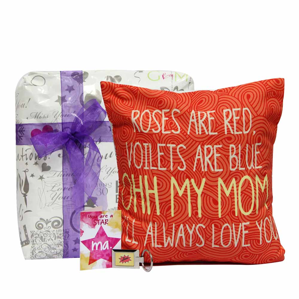 Personalized Gifts-Poetry Cushion for Mom