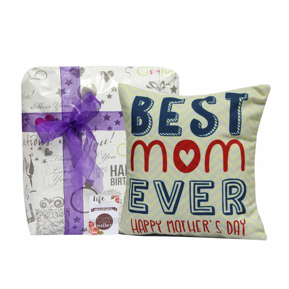 Personalized Gifts-Best Mom Ever Cushion