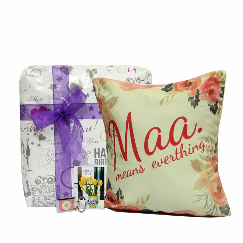 Personalized Gifts-Affectionate Cushion for Maa