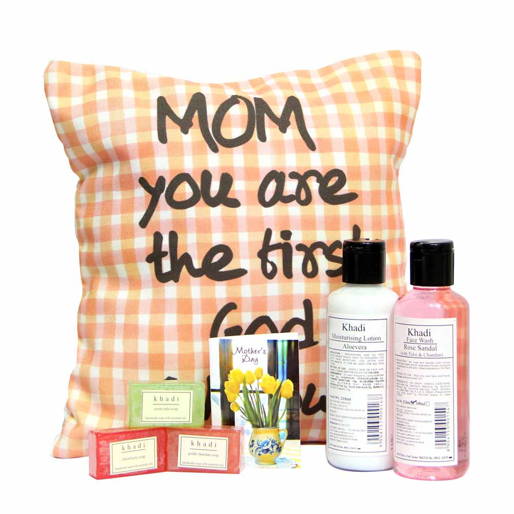 Personalized Gifts-Khadi Kit with Cushion GIFTS111019