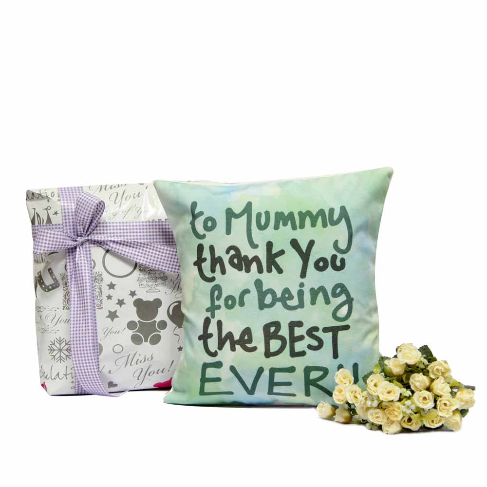 Personalized Gifts-Best Ever Cushion for Mom