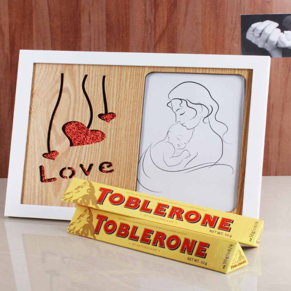 Sweet Nothings-Love Frame and Tolerance Chocolate for Mummy