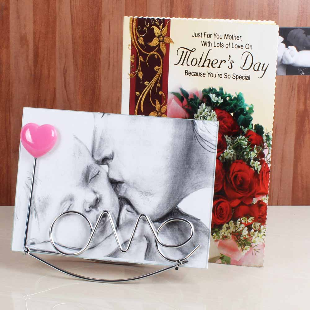 Sweet Nothings-Love Photo Frame for Mommy with Greeting Card