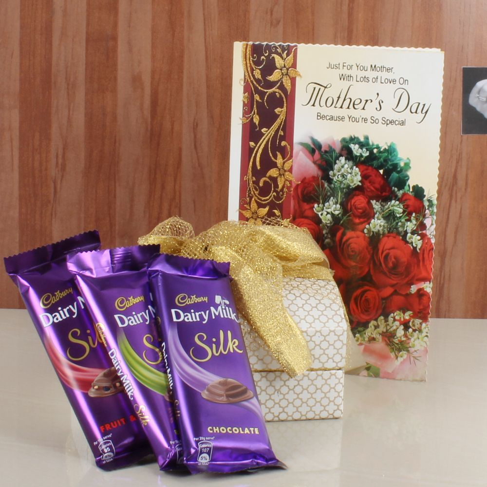 Chocolate Lover Mom Gift Hamper
