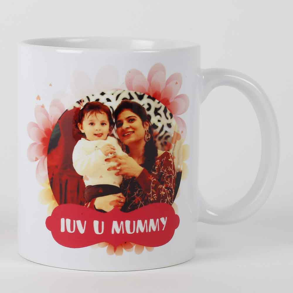 Personalized Gifts-Mothers Day Personalised Photo Mug For Mom