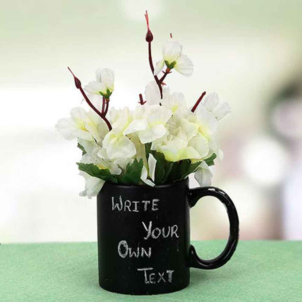Personalized Gifts-Mothers Day Your Words Mug & Plant
