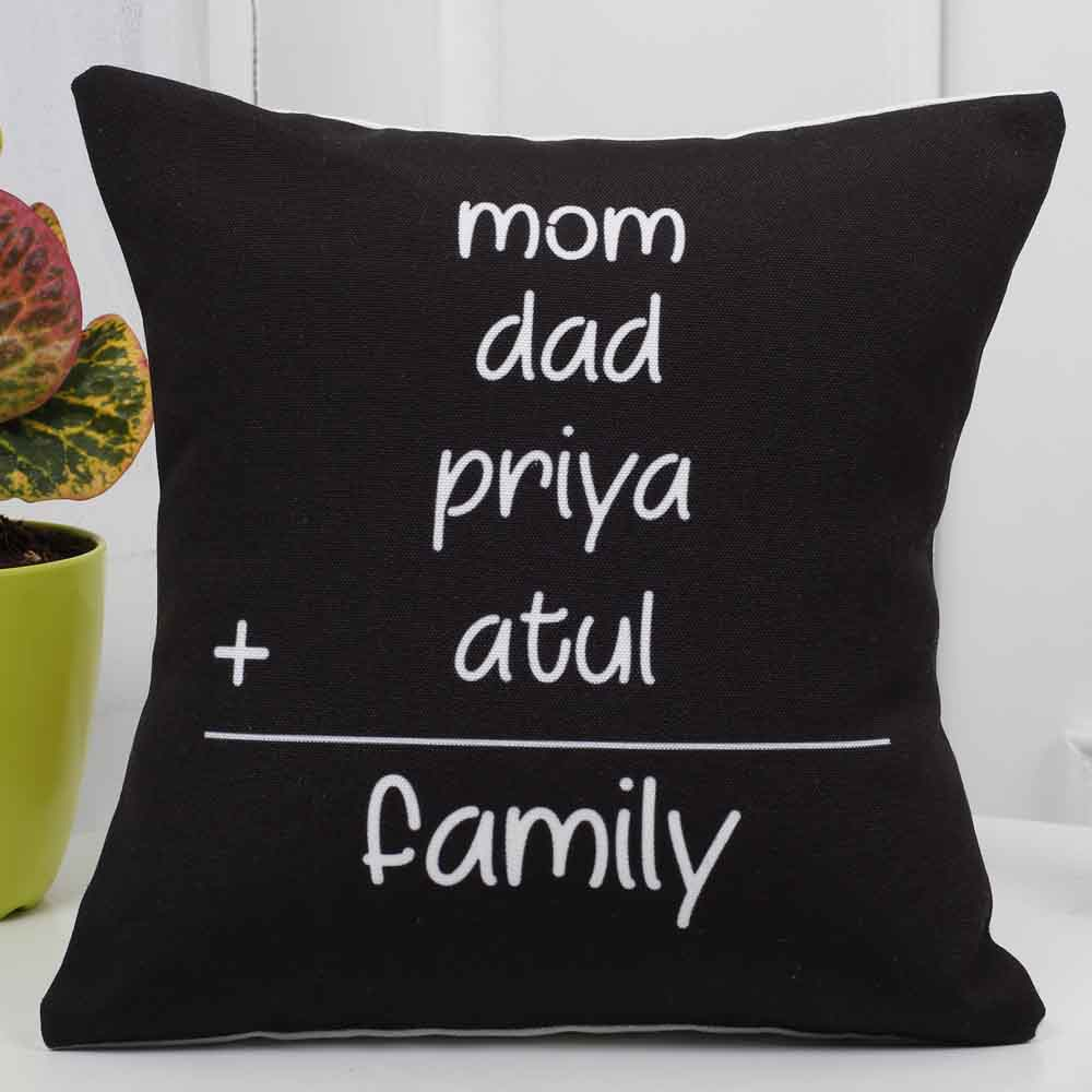 Personalized Gifts-Mothers Day Personalized Family Cushion