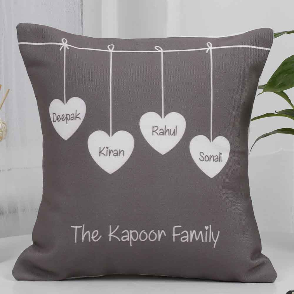 Personalized Gifts-Mothers Day Cute Family Cushion