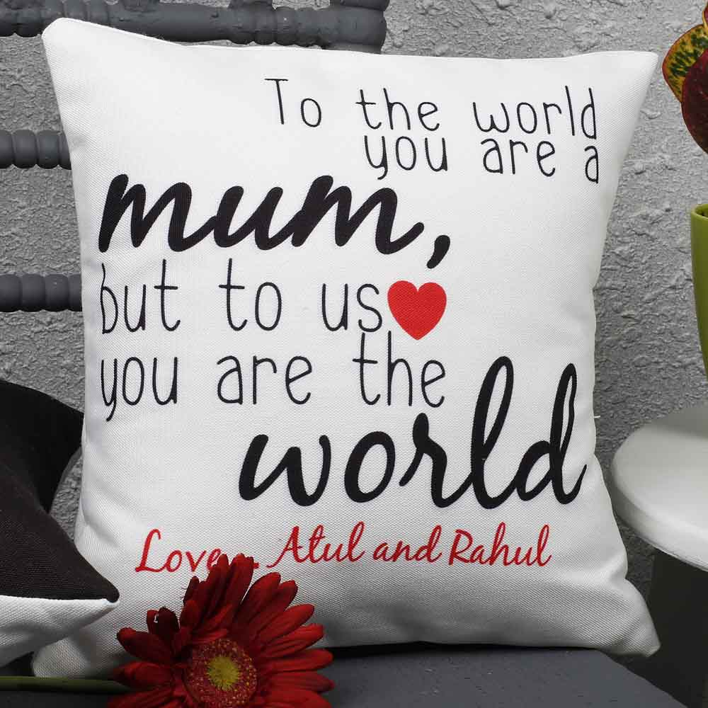 Personalized Gifts-Mothers Day Beautiful Mothers Day Cushion