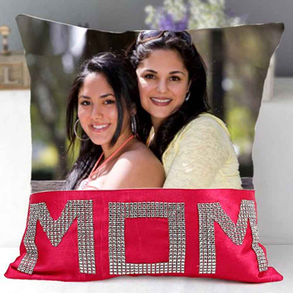 Mothers Day Dazzling Mom Cushion