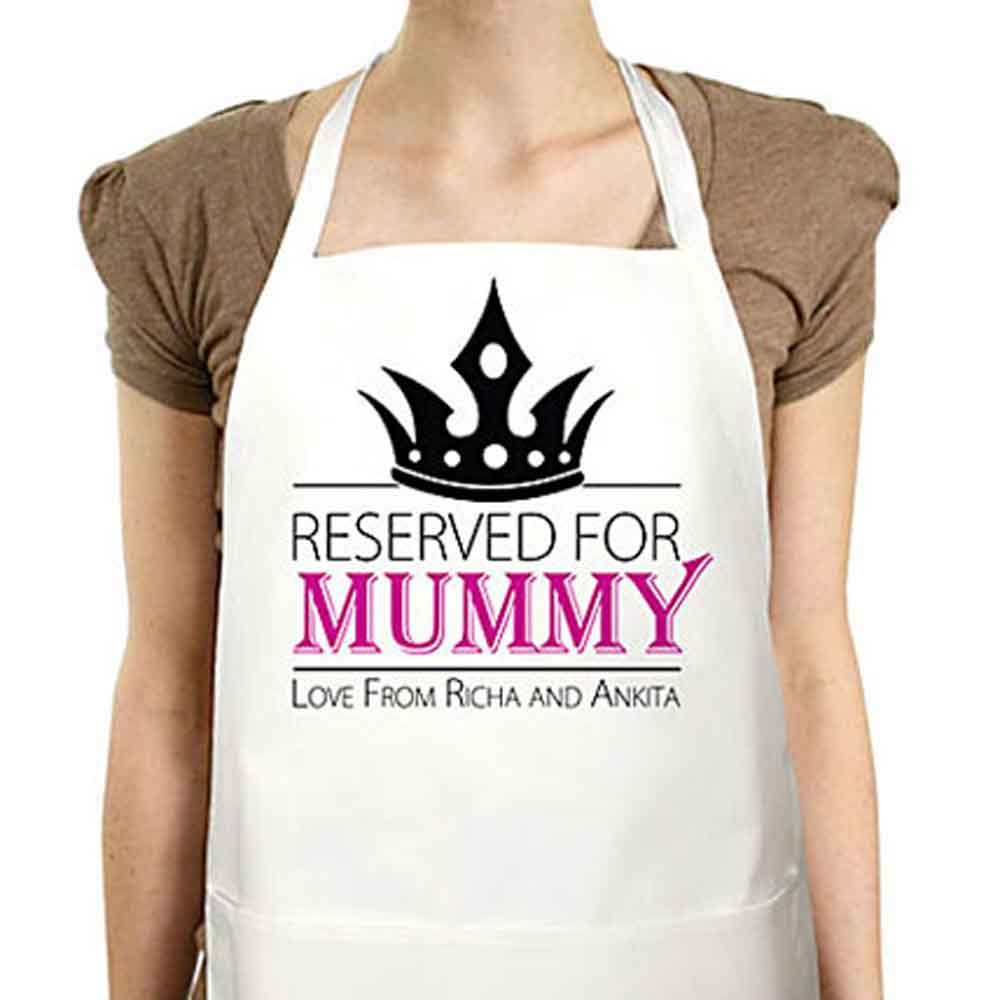 Personalized Gifts-Mothers Day Apron The Secret Of Super Mom