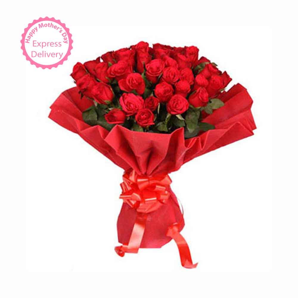Fresh Flowers-Ruby Red