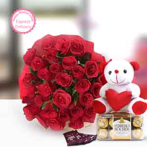 Flowers & Chocolates-Perfect N Lovely